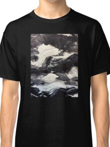 Balance, Black and White Abstract Classic T-Shirt