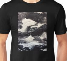 Balance, Black and White Abstract Unisex T-Shirt