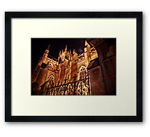 St Marys Cathedral HDR Framed Print