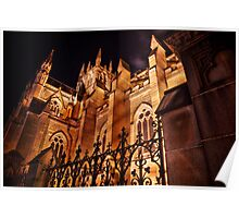St Marys Cathedral HDR Poster