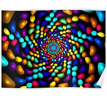 Jellybeans Twist Roll  Poster