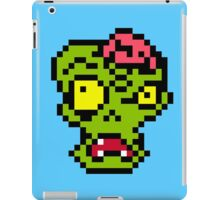 Zombie - pixel art iPad Case/Skin