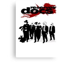 Reservoir Docs Canvas Print