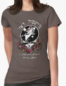 The Dead From Israel for Dark Colors Womens Fitted T-Shirt