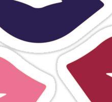 Retro Lips Pattern Sticker