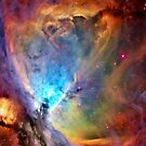 Orion Nebula space galaxy iPhone case by Jnhamilt