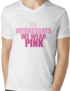 PINK Mens V-Neck T-Shirt