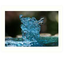 Fountain #1 Art Print