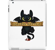 Useless Reptile  iPad Case/Skin