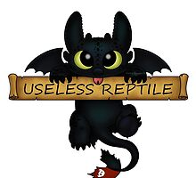 Useless Reptile  by Redhead-K