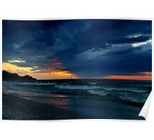 Great Lake Clouds Poster