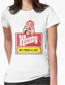 Wendy's My Pride and Joy Womens Fitted T-Shirt