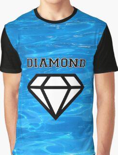Diamond poster pool Graphic T-Shirt