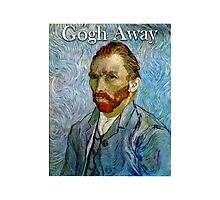 Gogh Away Photographic Print