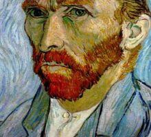 Gogh Away Sticker