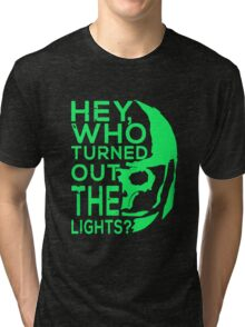 Doctor Who - Who turned out the lights Tri-blend T-Shirt