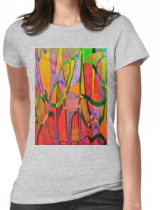 1012 Abstract Thought Womens Fitted T-Shirt