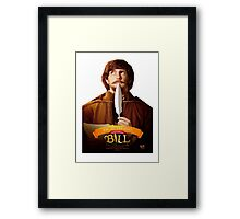 Bill - William Shakespeare - Mathew Baynton Framed Print