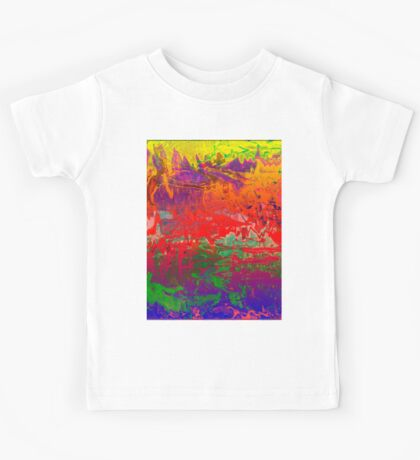 1096 Abstract Thought Kids Tee