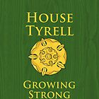 House Tyrell iPhone Case by Alexandra Grant