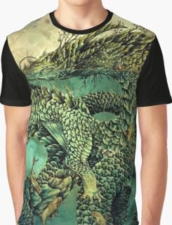 River Dragon Graphic T-Shirt