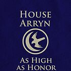 House Arryn iPhone Case by Alexandra Grant