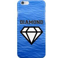 Diamond poster sea  iPhone Case/Skin