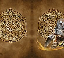 Celtic Owl Journal by Brigid Ashwood
