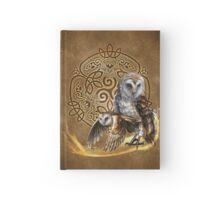 Celtic Owl Journal Hardcover Journal