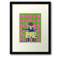A Wild Hare Framed Print