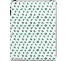 Really Really Small Weed Leafs iPad Case/Skin