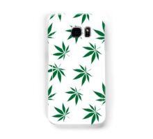 weed pattern large leaf Samsung Galaxy Case/Skin