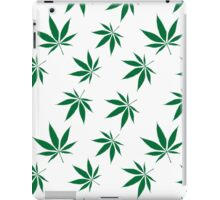 weed pattern large leaf iPad Case/Skin