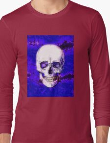 Smiling Skull Long Sleeve T-Shirt