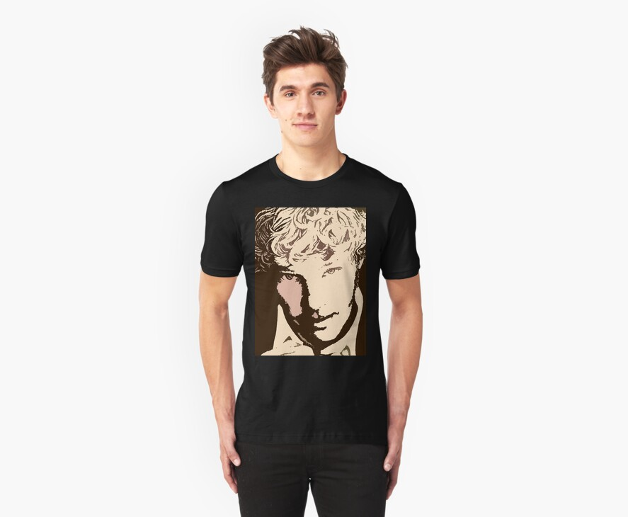 Benedict Cumberbatch sketch (two-tone) tee! by cumberlover
