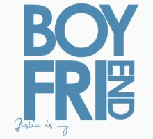 Justin Is My Boyfriend (Blue) by ElleeDesigns