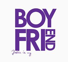 Justin Is My Boyfriend (Purple) Unisex T-Shirt