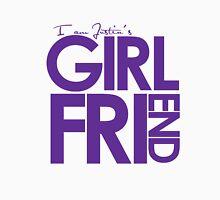 I Am Justin's Girlfriend (Purple) Unisex T-Shirt