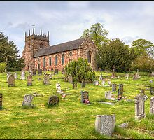 All Saint's Church, Forton by alan tunnicliffe