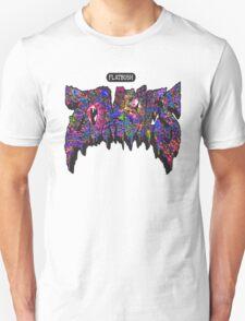 FBZ Purple Splatter Text T-Shirt
