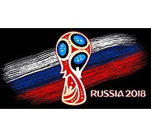Russia 2018, Fifa World Cup soccer competition Photographic Print