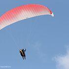 Paragliding 004 by Karl David Hill