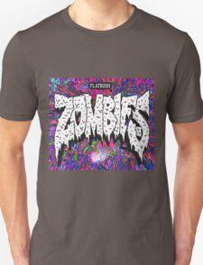 FBZ purple splatter background Unisex T-Shirt