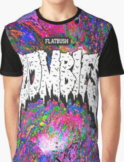 FBZ purple splatter background Graphic T-Shirt