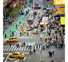 NYC City Tilt Shift Photographic Print