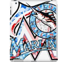 MARLINS WHITE iPad Case/Skin