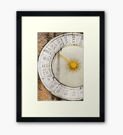 Ancient times Framed Print