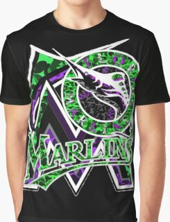 MARLINS BLACK Graphic T-Shirt