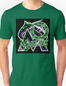 MARLINS BLACK Unisex T-Shirt
