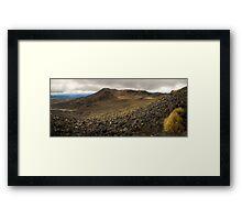 Volcanic Paradise, Mt Tongariro Framed Print